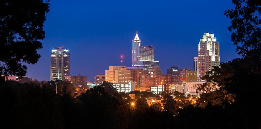 Raleigh Skyline Photograph By Joye Ardyn Durham
