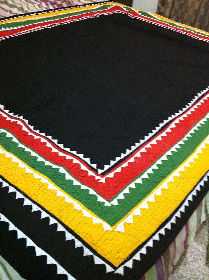 Ralli Tapestry - Textile - Ralli Quilt by Sidra Mirza
