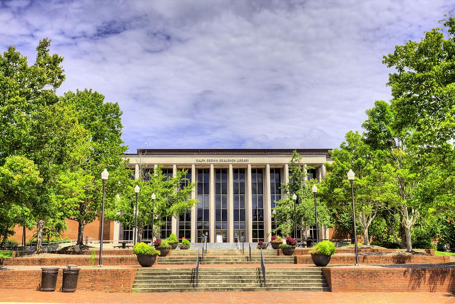 auburn university library photograph ralph brown draughon library by jc findley