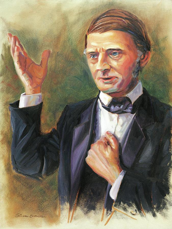 Ralph Waldo Emerson Painting