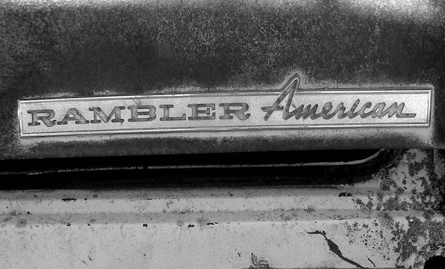 Car Photograph - Rambler American by Audrey Venute