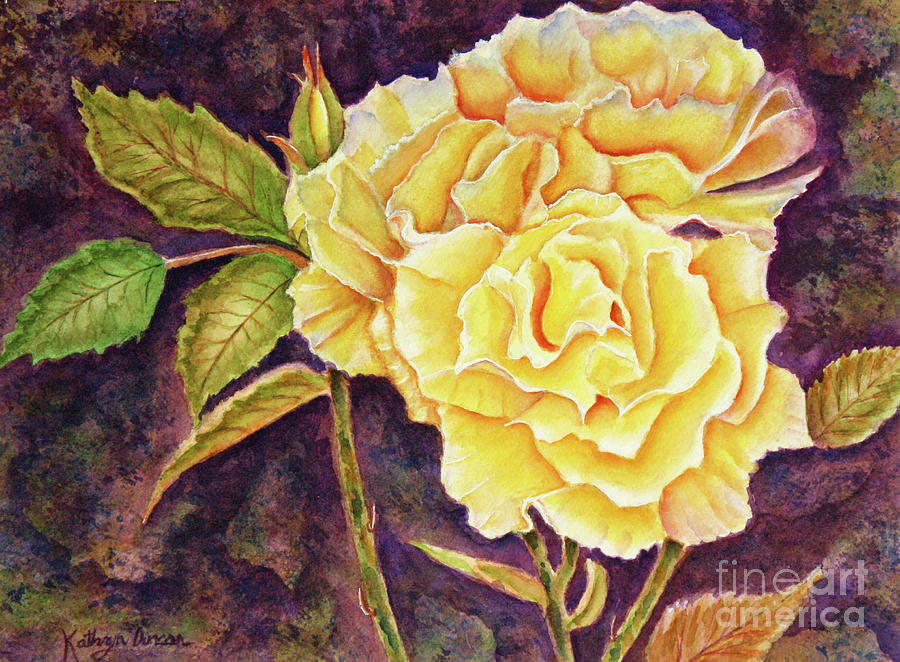 Ramblin Rose 2 by Kathryn Duncan