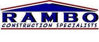 Logo Digital Art - Rambo Construction Specialists by Alicia Rambo