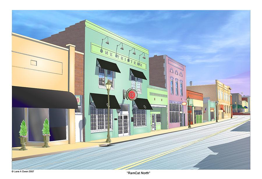 Seneca Digital Art - Ramcat North by Lane Owen