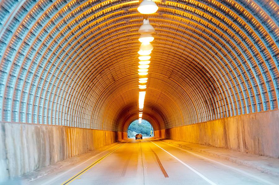 Tunnel Photograph - Rampage by Salvatore Corcione