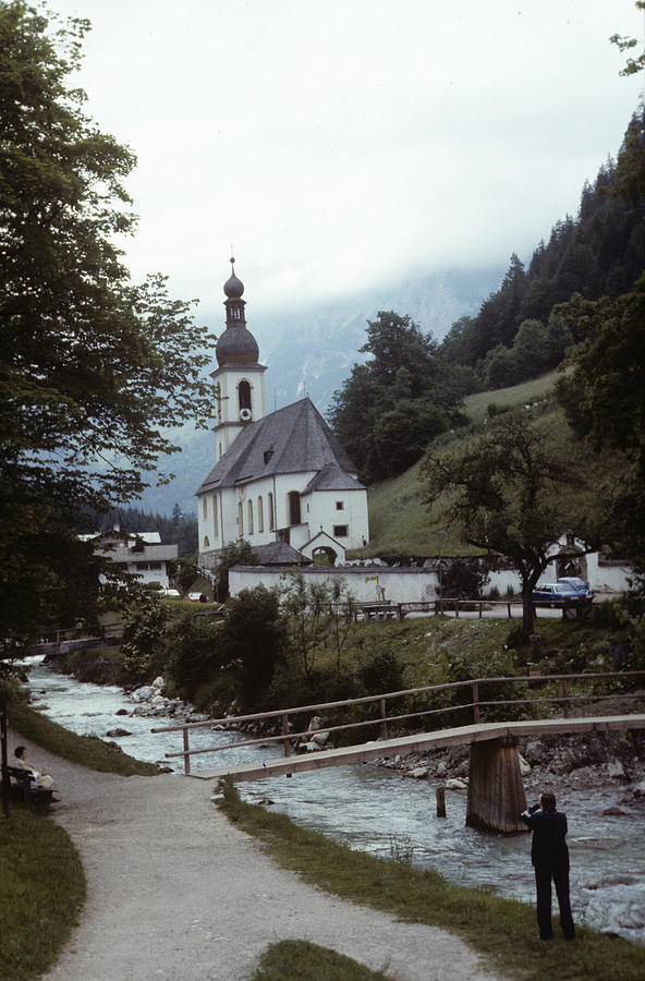 Ramsau Church by Donald Paczynski