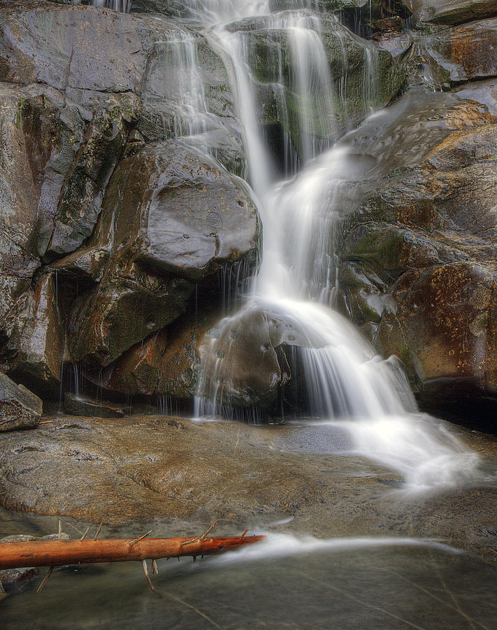 Ramsey Photograph - Ramsey Cascades In Great Smoky Mountains National Park Tennesee by Brendan Reals