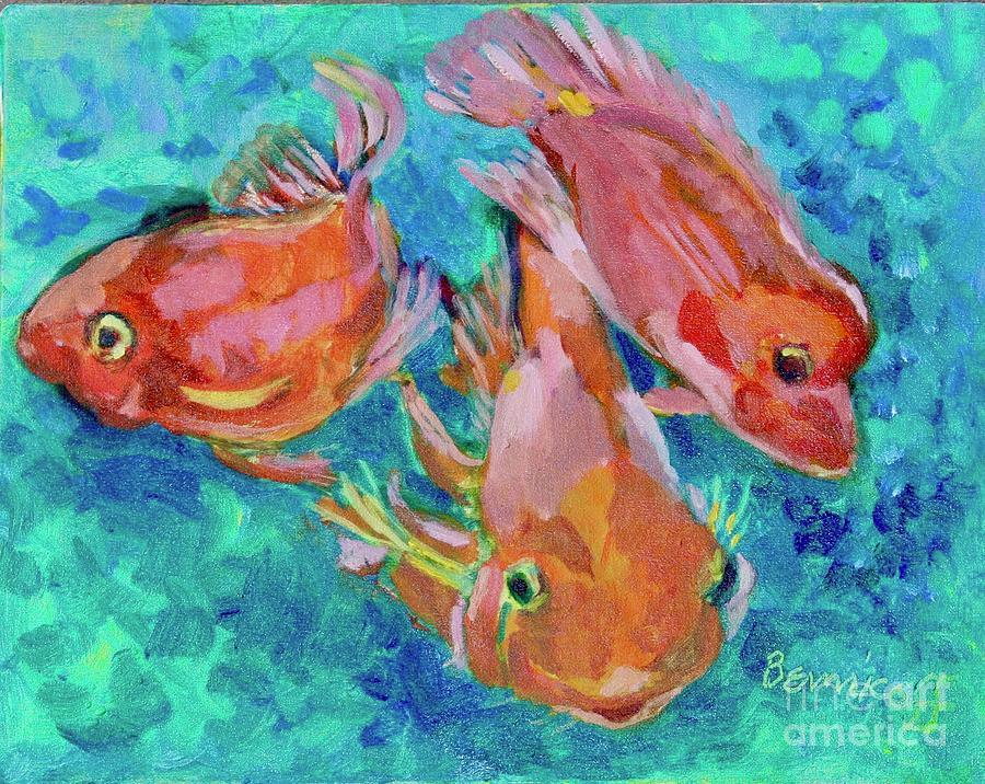 RamsHead Goldfish by Jan Bennicoff