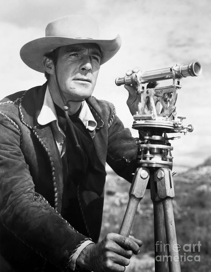 1941 Photograph - Randolph Scott (1898-1987) by Granger