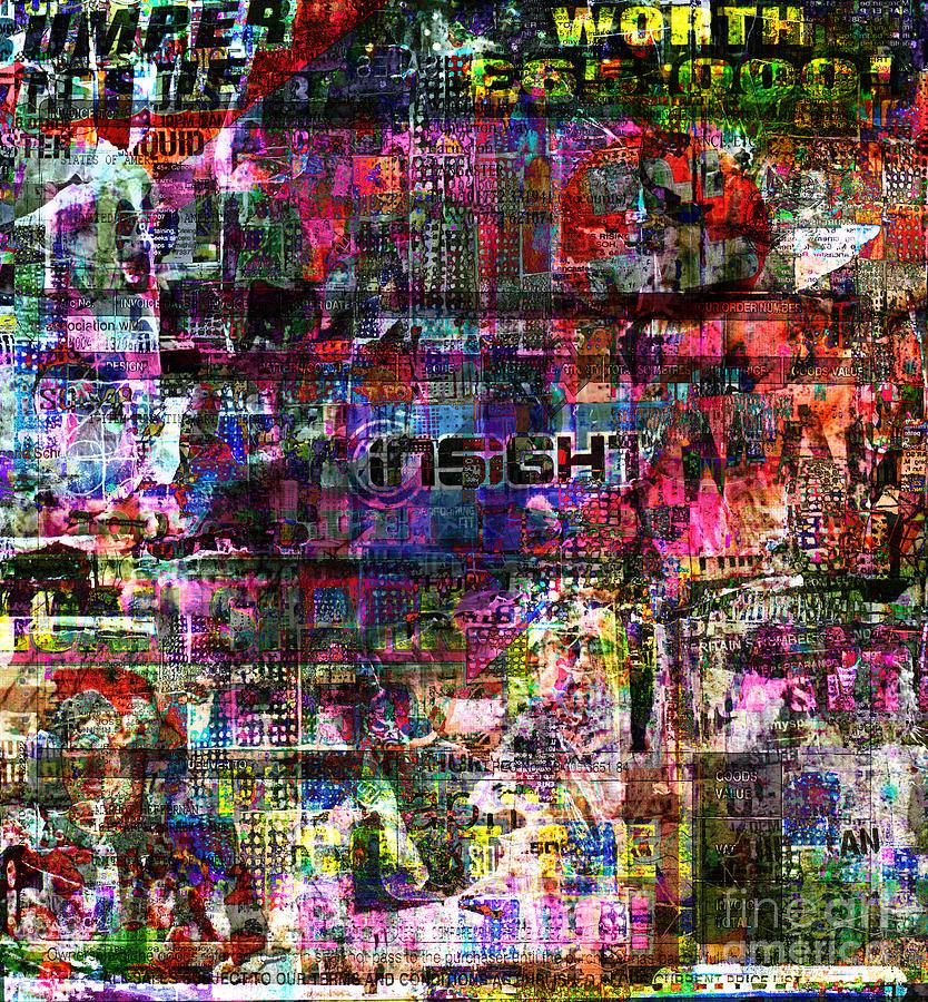 Random Digital Art - Random 514  by Andy  Mercer