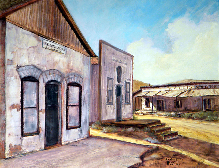 West Painting - Randsburg California by Evelyne Boynton Grierson