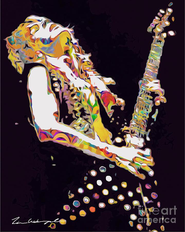 Randy Rhoads Digital Art - Randy Rhoads by Tim Wemple