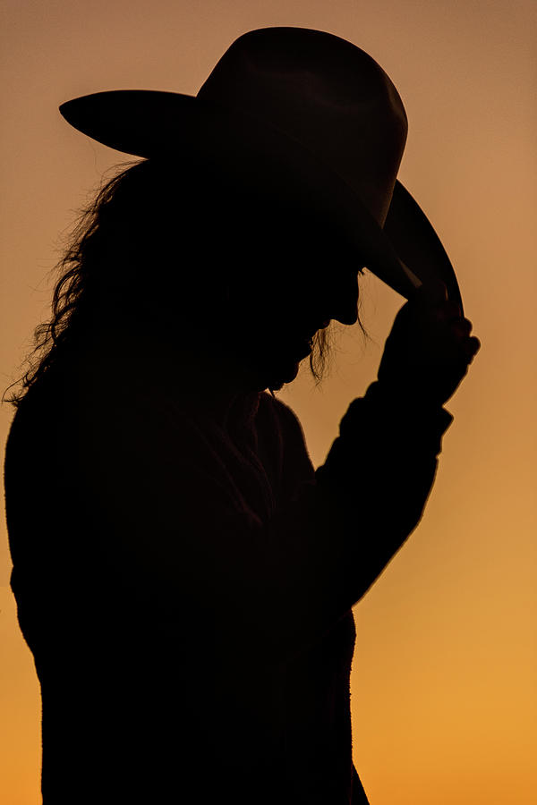 Sunrise Photograph - Range Woman by Steve Gadomski
