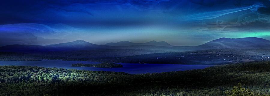 Rangeley Magic Sunset by Russ Considine