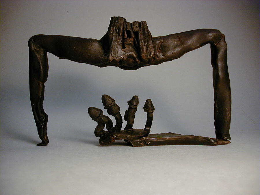 Sexual Abuse Sculpture - Rape by Janet  Lipp