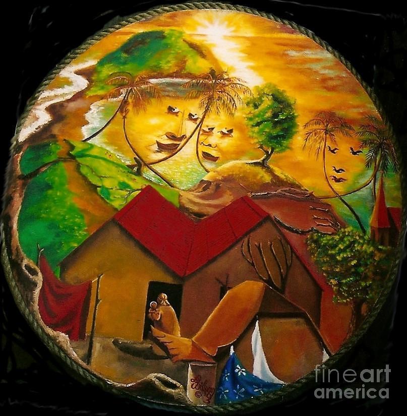 Raphael Painting - Raphaelesque Cashacrou Madonna by David G Wilson