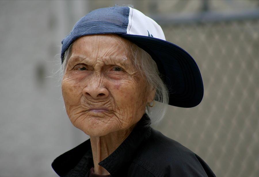 Woman Photograph - Rappin Granny by Jason Hochman