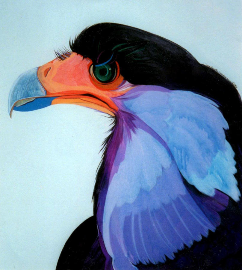 Raptor Painting - Raptor 5 by Marlene Burns