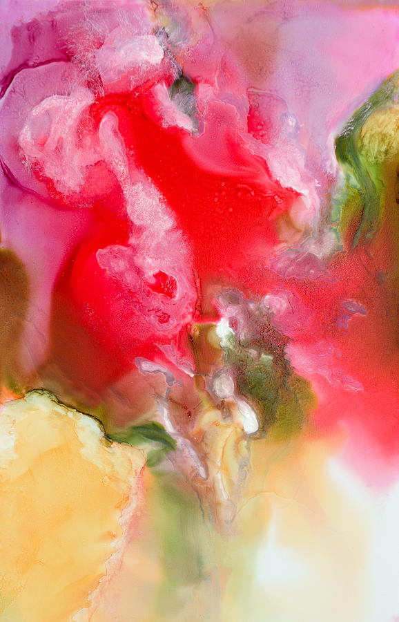 Abstract Painting - Rapture - B - by Sandy Sandy