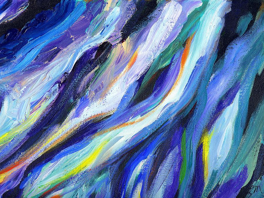 Abstract Painting - Rare Ambition by Linda Mears