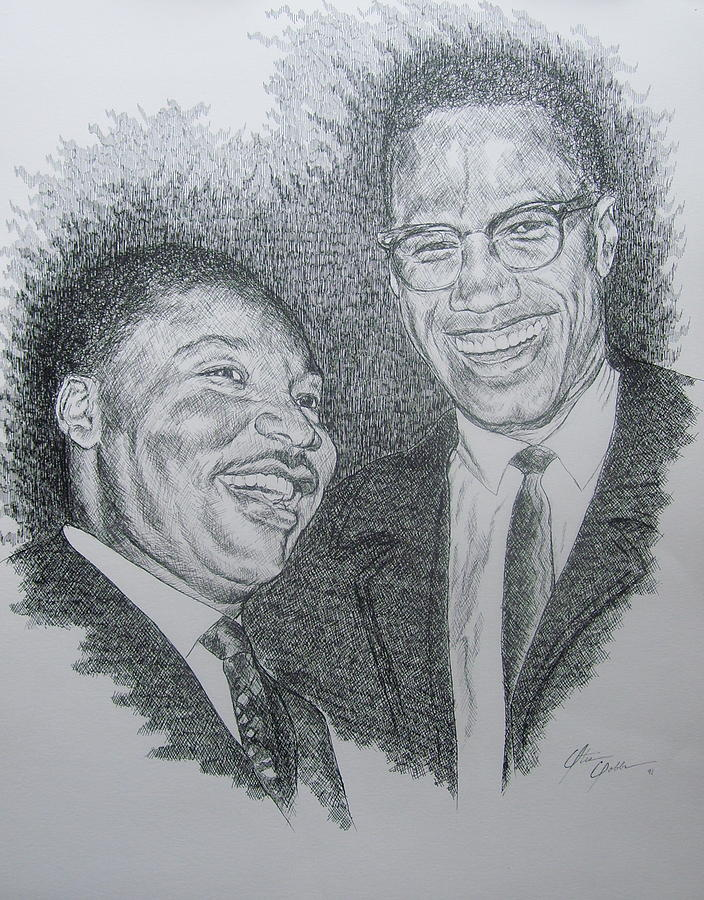 Martin King Drawing - Rare Occasion by Otis  Cobb