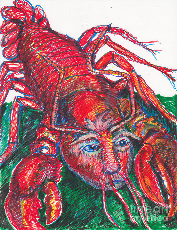 Rare Trump Lobsters Have Little Hands Drawing By Susan Brown Slizys Art Signature Name