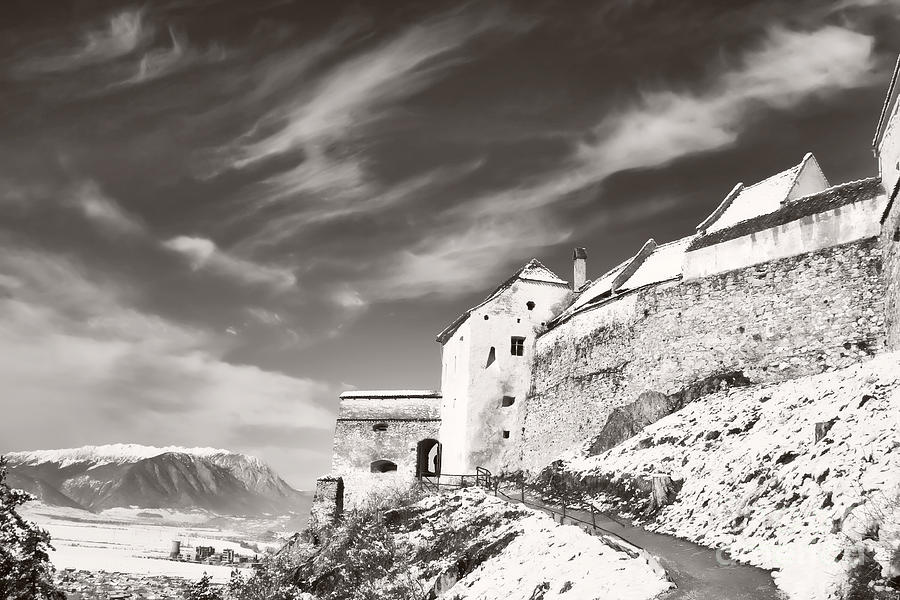 Rasnov Photograph - Rasnov Fortress by Gabriela Insuratelu