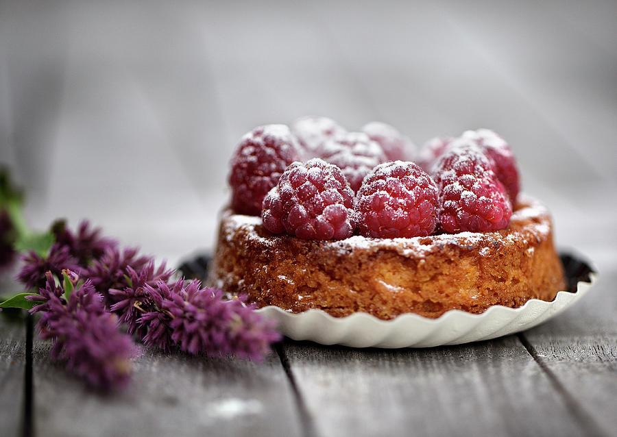 Raspberry Tarte Photograph