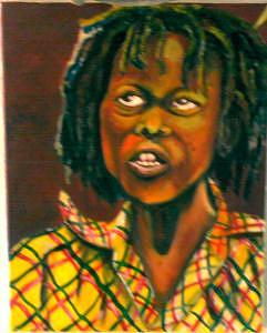 Rass Boy  Painting by Andrew Johnson