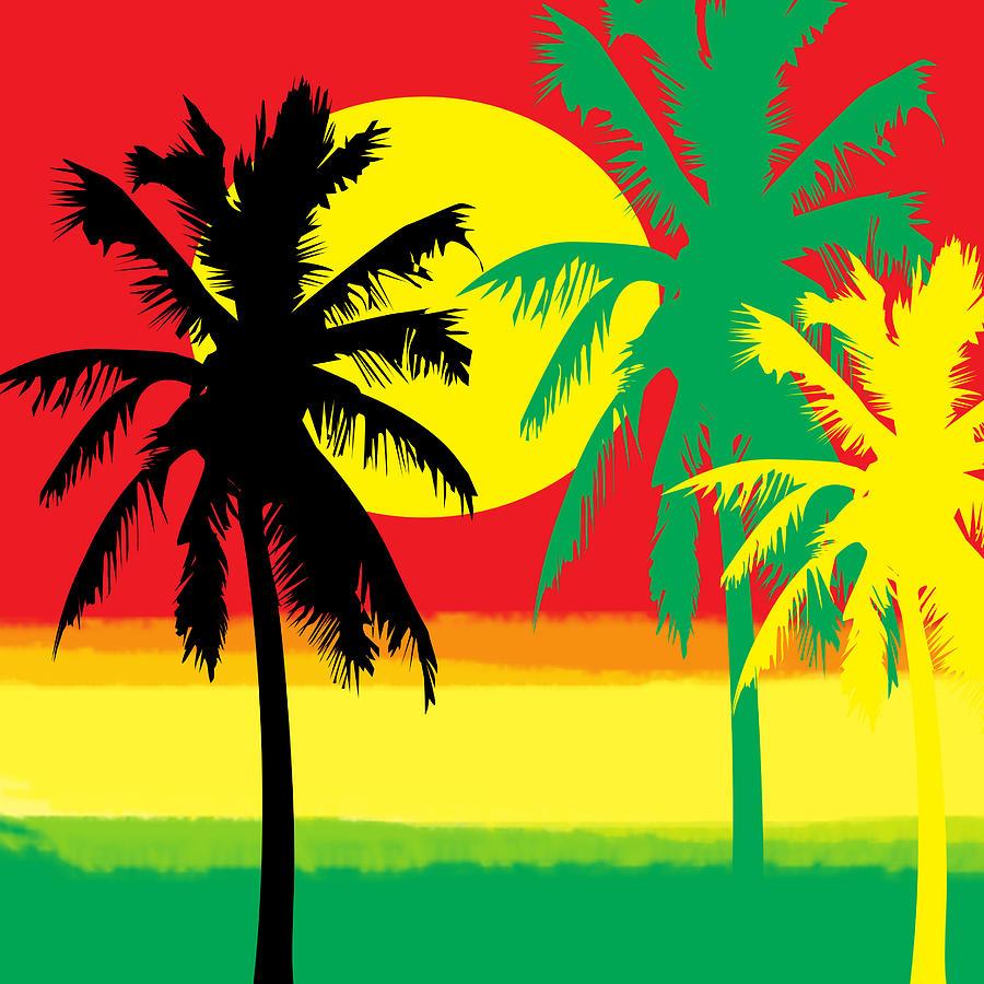 Rastafari Digital Art   Rasta Graphic By KaFra Art