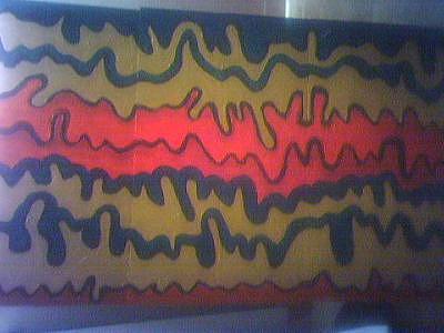 Rasta Vibrations Painting by Darnillious Designs