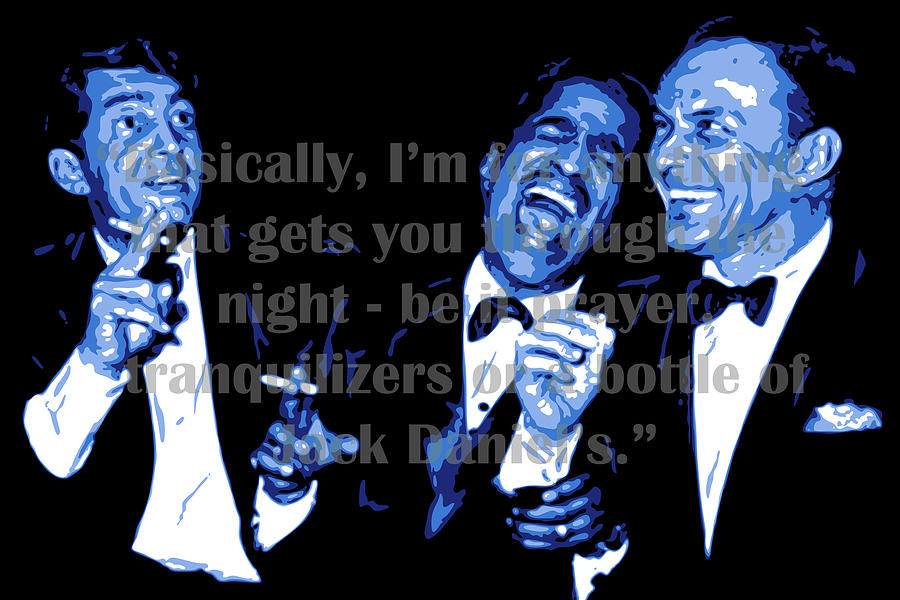 Rat Pack at Carnegie Hall with quote by DB Artist