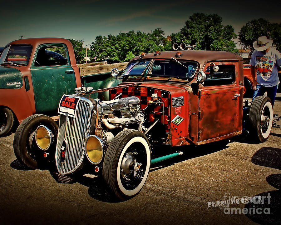 Rat Rod For Sale Photograph by Perry Webster