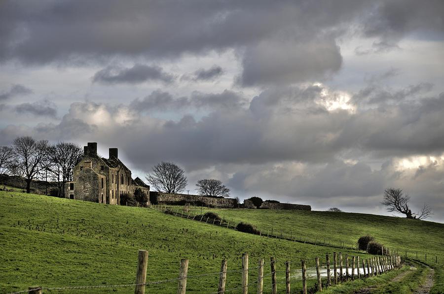 Ireland Photograph - Rathfran House by Marion Galt