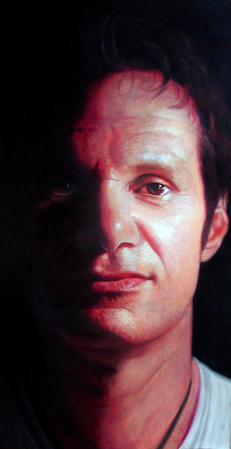 Portrait Painting - Raul by Kamalky Laureano