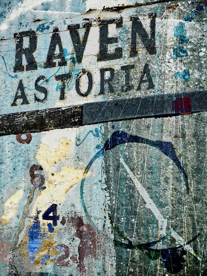 Astoria Mixed Media - Raven Astoria  by Carol Leigh