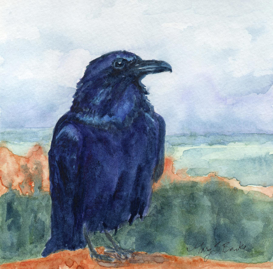 Raven Overlook by Mary Benke