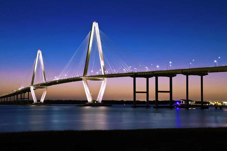 Ravenel Bridge 2 by Bill Barber