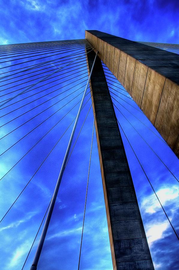 Bridge Photograph - Ravenel Sky by Drew Castelhano