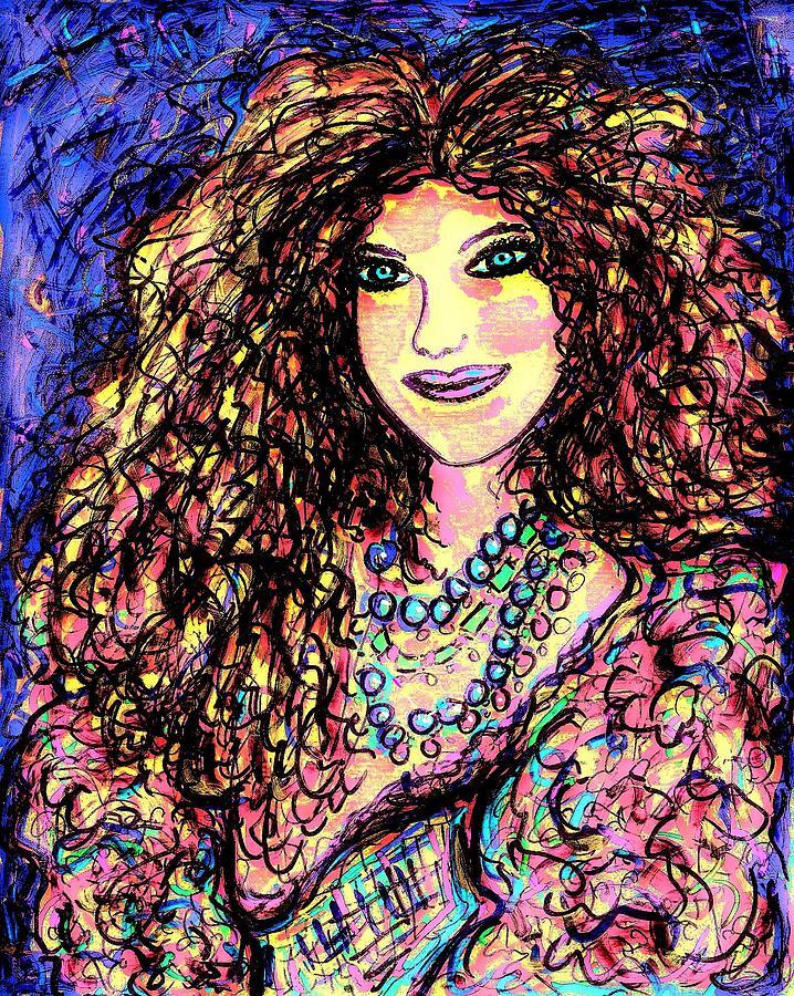 Woman Painting - Ravishing Beauty by Natalie Holland