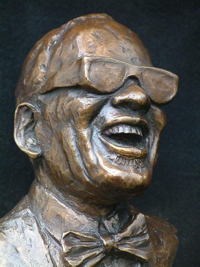 Sculpture Sculpture - Ray Charles - Award by Wayne Headley