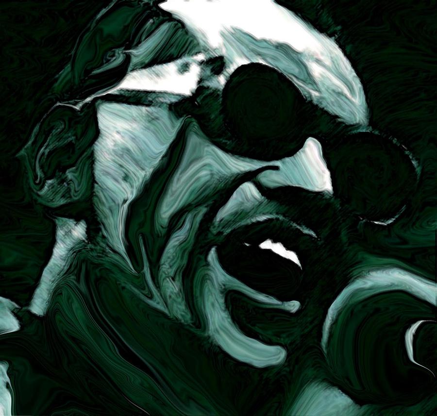Musicians Painting - Ray Charles by Jeff DOttavio
