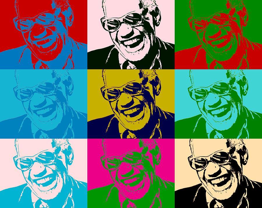 Ray Charles Pop Art Poster Digital Art