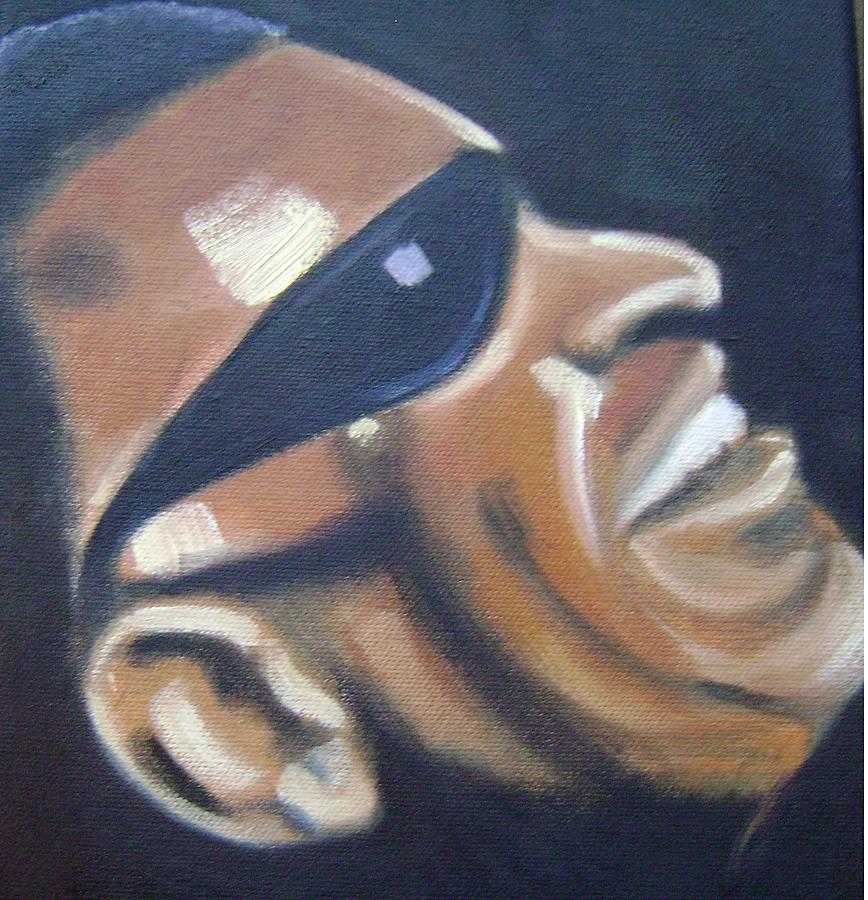 Ray Charles Painting - Ray Charles by Toni Berry