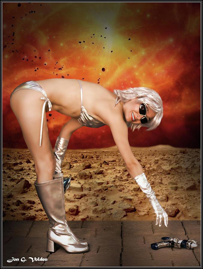 Vixen Photograph - Ray Gun Dropped by Jon Volden