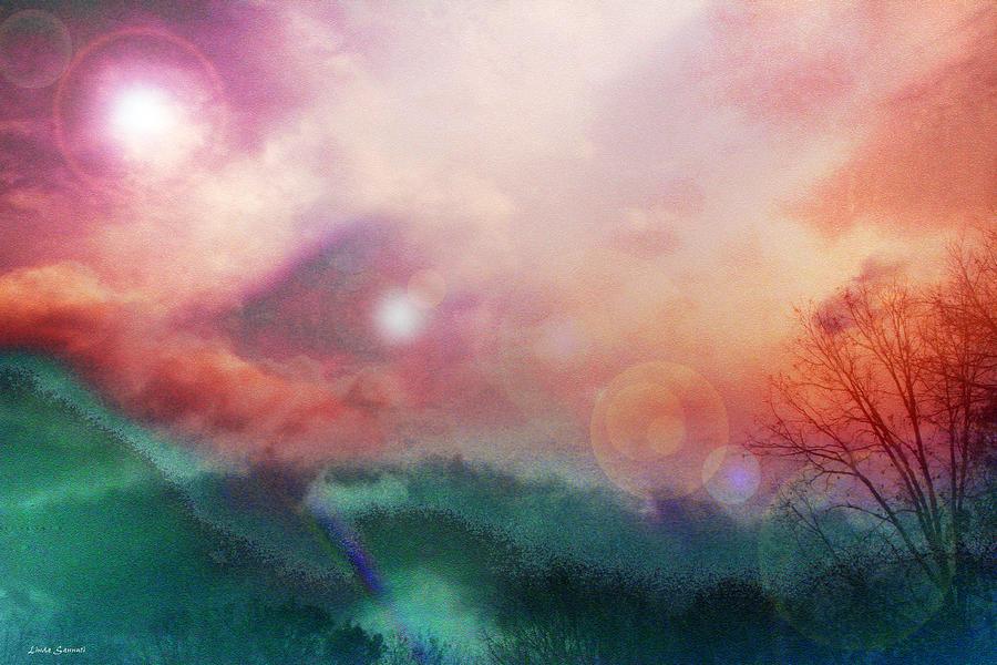 Nature Digital Art - Ray Of Hope by Linda Sannuti