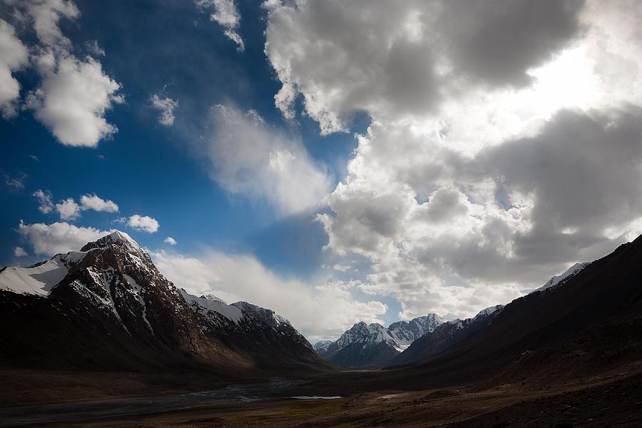 Beautiful Photograph - Ray Of The Sky by Konstantin Dikovsky