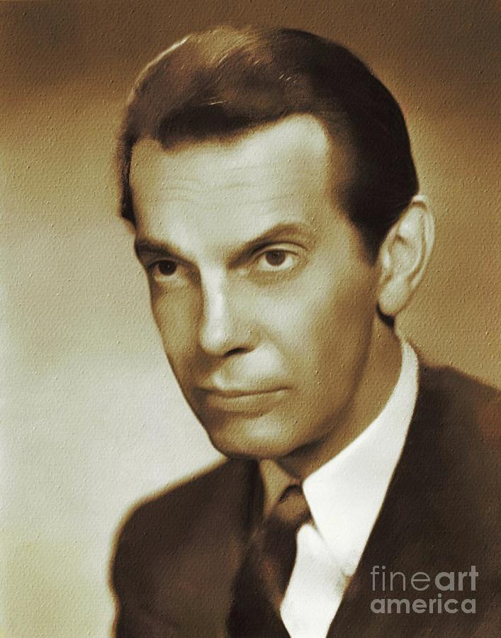 Raymond Massey, Movie Legends Painting
