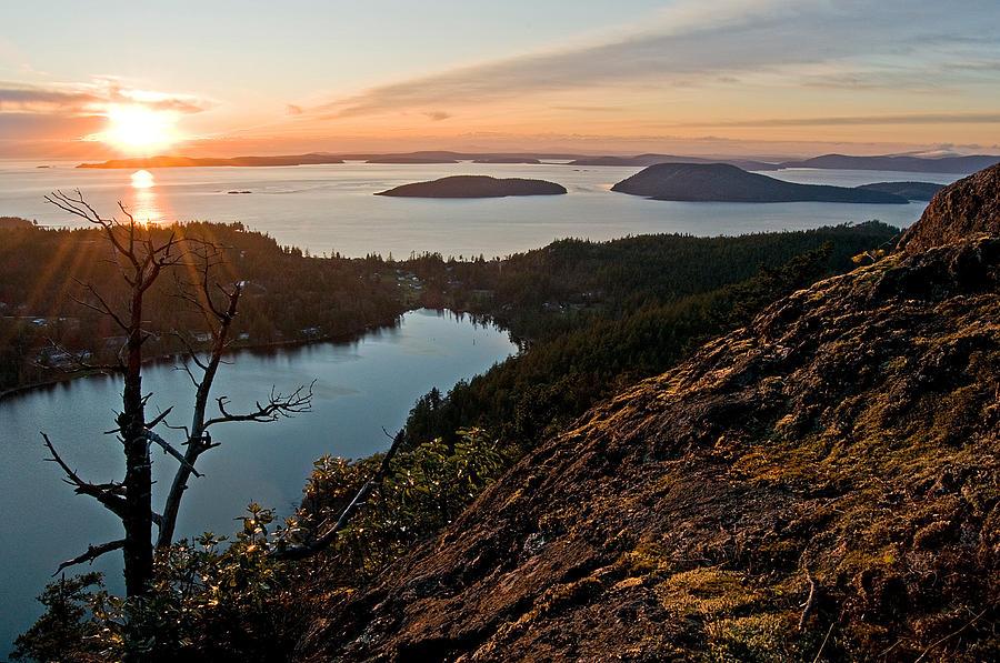 Landscape Photograph - Rays Of Reflection by Joel Brady-Power