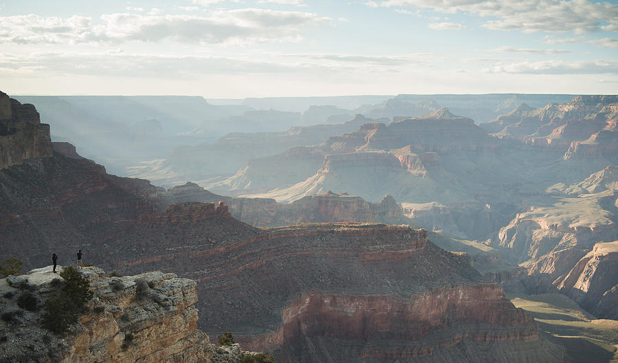 Landscape Photograph - Rays Of The Grand Canyon by Justin Krickovich